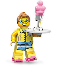 Lego 71002 Minifig Series 11 Diner Waitress  - Free Postage
