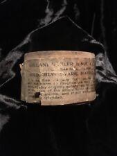Antique Jar Polishing Compound In Original Wooden Jar