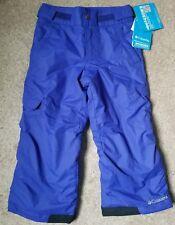 Columbia sled now talk later pants snow pants size XXS 4/5 New Unisex
