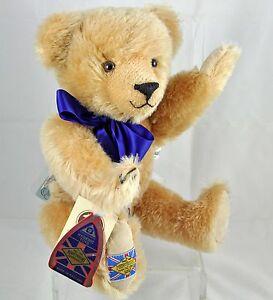 Merrythought Mohair Diamond Jubilee Stuffed Bear '90 LTD ED No 867/2500 Orig Box