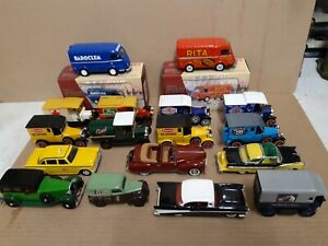 Lot de 17 voitures CORGI Matchbox ERTL RIO  1.43  & divers