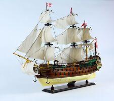 "Norske Love Handmade Wooden Tall Ship Model 39"""