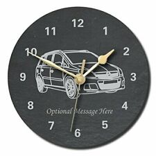 Vauxhall Zafira Design Slate Clock - Personalised with text of your choice (L...