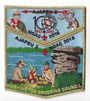 Boy Scout OA 2 Ajapeu Lodge 2015 Centennial NOAC Set