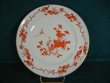 Vista Alegre Made in Portugal Rust Floral Dinner Plate - Made for Tiffany and Co