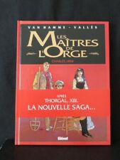 EO Les Maîtres de l'Orge, CHARLES, 1854, Van Hamme & Vallès, DL:11/1992, Glénat