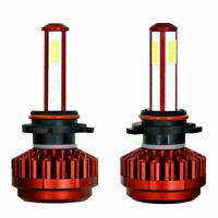 2x 9006 HB4 980W 147000LM LED Birne Scheinwerfer Lampe Glühbirnen Kit 6000K Weiß