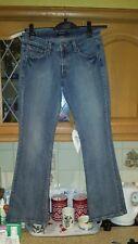 ladies levi jeans  super low 518 slightly flared