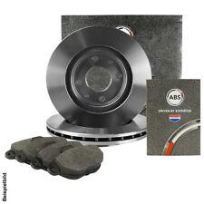 ABS BREMSSCHEIBEN Ø256 mm + BREMSBELÄGE SET HINTEN VW GOLF IV 1J1 2.3 V5 150PS
