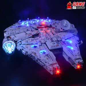 Game of Bricks LED Light Kit ONLY for Millennium Falcon 75192 (Classic Version)
