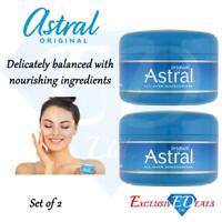 Astral Cream Original Face And Body Nourishing All Over Moisturiser - 50ml x 2