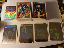 1990 Marvel Universe Series 1 Trading Cards COMPLETE SET #1-162 & MH1-MH5 VF NM