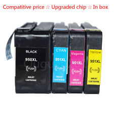 4 Ink for HP 950 951XL OfficeJet Pro 8100 8600 8610 8620 8630 8640 8660 251dw