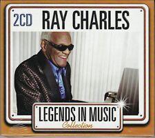 2 CD ♫ Audio Box Set RAY CHARLES ~ COLLECTION THE BEST IL MEGLIO nuovo sigillato