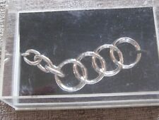 AUTHENTIC AUDI KEY CHAIN GIFT BOXED