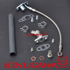 Turbo Oil Feed & Return Line Kit TOYOTA 1KZ-TE w/ CT12B Land Cruiser Prado Hilux