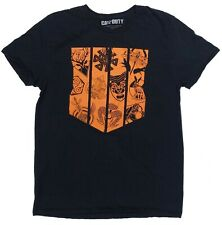 Call Of Duty T Shirt Large Black Video Game Short Sleeve Crew Neck 100% Cotton