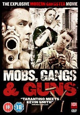 DVD:MOBS GUNS AND GANGS - NEW Region 2 UK