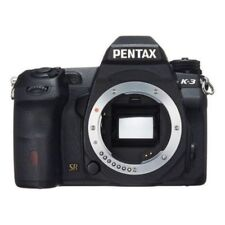 USED Pentax K-3 24 MP CMOS Digital SLR Body Black Excellent FREE SHIPPING