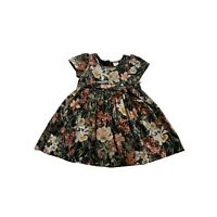 EDGEHILL COLLECTION  Floral Smocked Ribbon Tie Dress Toddler Girls 24M