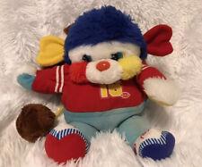 Vintage 1986 Mattel Popples Touch Down Football Sports Plush Stuffed Animal #16