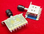 2pcs 5 Way Pickups Level Selector Switch Toggle Fit Ibanez Fender Strat Tele New