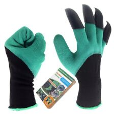 Garden Genie Gloves with Claws Waterproof Genie Gloves for Digging and Planting