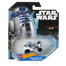 Star Wars Hot Wheels R2 D2 and Rey