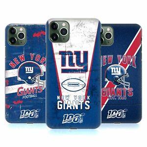 OFFICIAL NFL NEW YORK GIANTS LOGO ART HARD BACK CASE FOR APPLE iPHONE PHONES