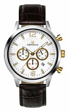 Orphelia Tempo Brown/Silver Mens Watch OR81801