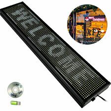 Led Sign Led Scrolling Sign 40 x 8 inch White Signs For Business