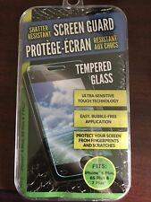 Tempered Glass~Shatter Resistant/Screen Guard for iPhone 6 Plus, 6s plus, 7 plus