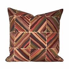 Vintage 1970s Collier Campbell Liberty Kasak Fabric Cushion Cover