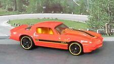 1981 CHEVROLET CAMARO 1:64 Orange Hot Wheels MIP Passenger Diecast Car Sealed
