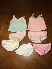 American Girl Doll Underwear Lot - Cami & Brief Sets & Panties