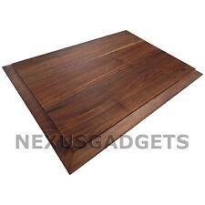 Tomo Edge Grain Solid WALNUT Wood Cutting Board Chopping Block Reversible Large