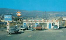 Photo. 1969-71. Williams Lake, BC Canada. Robo Auto Car Wash - GULF