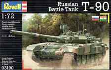 Revell 1/72 Russian Battle Tank T-90 Plastic Model Kit 03190