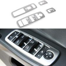 fits Cherokee Grand Cherokee Durango Journey Matte Car Window Button Trim Frame
