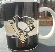 NHL PITTSBURGH PENGUINS 11 OZ WHITE CERAMIC COFFEE MUG BIG SMALL LOGO