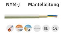 NYM J 3x1,5 3x2,5 5x1,5 5x2,5 mm Mantelleitung Elektroleitung Kabel METERWARE