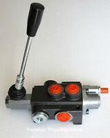 Hydraulikventil, Handsteuerventil  1-fach 50 L / für DW- zylinder / A B Rastend
