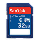 SanDisk 8GB 16GB 32GB SD SDHC Class4 Standard for Camera Flash lot Memory Card
