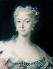 Maria Theresa, Archduchess of Habsburg Rosalba Carriera Adel Frauen B A3 03196