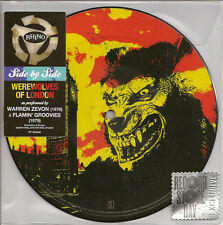 "WARREN ZEVON - Werewolves Of London Picture Disc 7"" lp 2016 Record Store Day RSD"