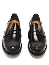 CHURCH'S turnbridge Mocassini Da Uomo Tg UK 8 RRP £ 450