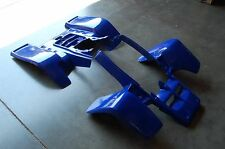 YAMAHA BANSHEE YFZ 350 DARK BLUE PLASTIC STANDARD FRONT AND REAR FENDER SET
