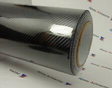 5D Black Carbon Fibre Vinyl Car Wrap Film Decal (Air/Bubble Free) 100cm