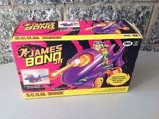 Vintage 90S#James Bond Jr. S.C.U.M. Shark Attack Motorcycle# Nib
