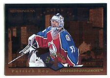 1996-97 Donruss Canadian Ice Les Gardiens 1 Patrick Roy 1006/1500